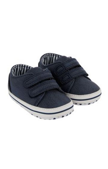 Mothercare   Navy Pram Shoes