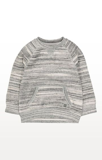 Mothercare | Grey Velour Sweat Top