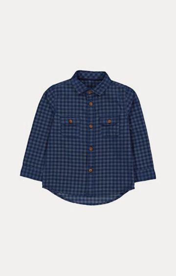Mothercare | Blue Checked Shirt