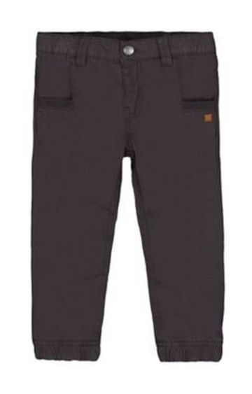 Mothercare | Grey Jersey-Lined Woven Trousers
