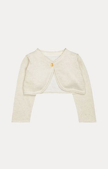 Mothercare | Cream Solid Shrug