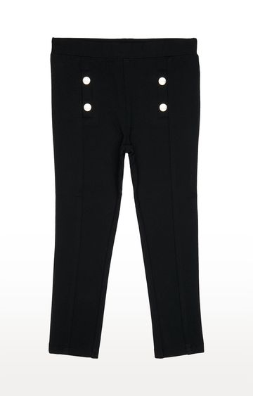 Mothercare | Black Solid Jeggings