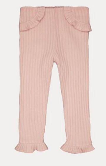 Mothercare | Pink Ribbed Leggings