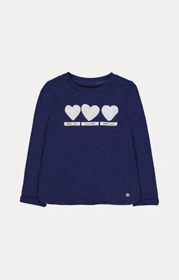 Mothercare | Navy Heart T-Shirt