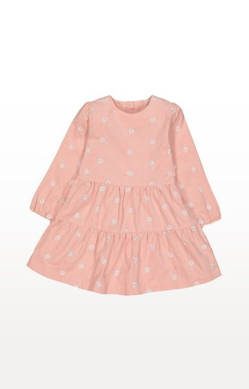 Mothercare | Pink Cord Floral Dress