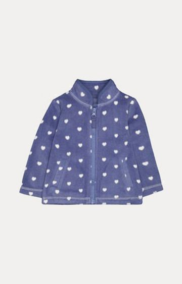 Mothercare | Blue Heart Fleece