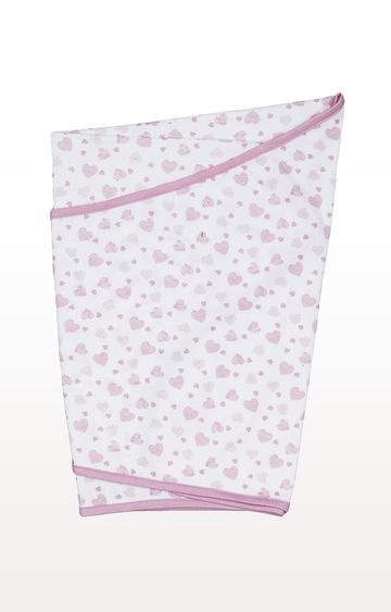 Mothercare | Pink Essential Cotton Swaddling Blanket