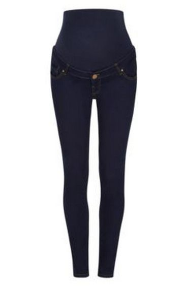 Mothercare   Dark Blue Solid Straight Jeans