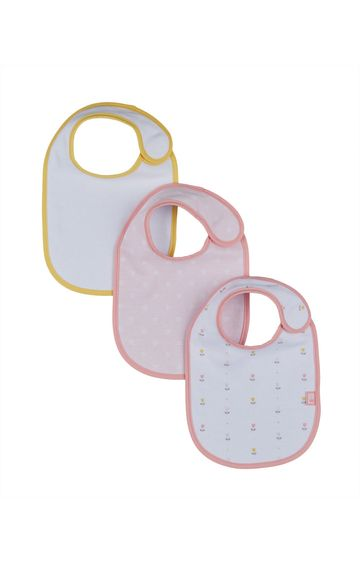Mothercare | Tulip Newborn Bibs - Pack of 3