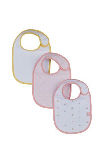 Mothercare | Tulip Newborn Bibs - Pack of 3