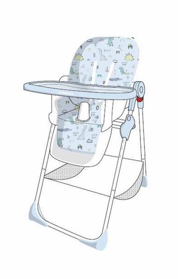 Mothercare | Mothercare Sleepysaurus Baby Highchair