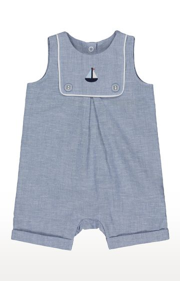 Mothercare | Blue Striped Romper