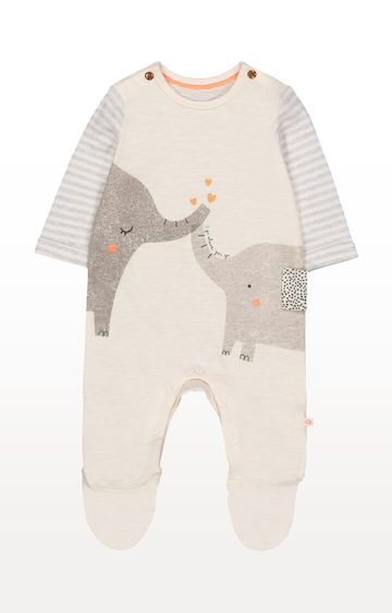 Mothercare   I Go Where You Go Elephant All In One
