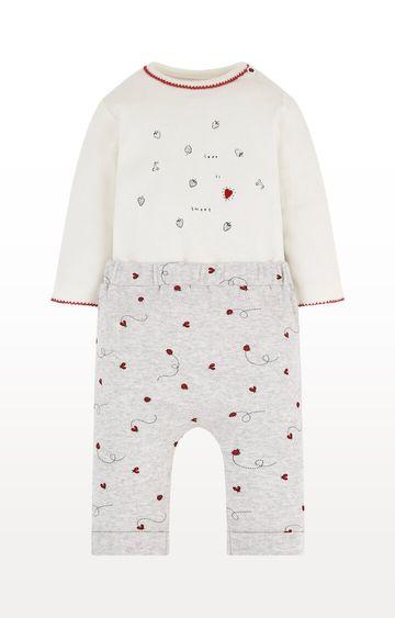 Mothercare   Ladybird Mock Top Bodysuit and Joggers Set