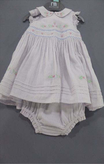 Mothercare | White Printed Dress