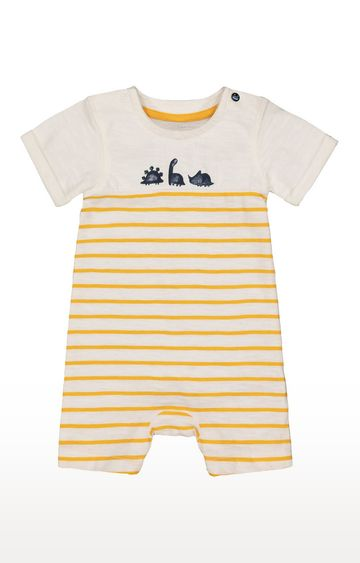 Mothercare | Mustard Striped Romper