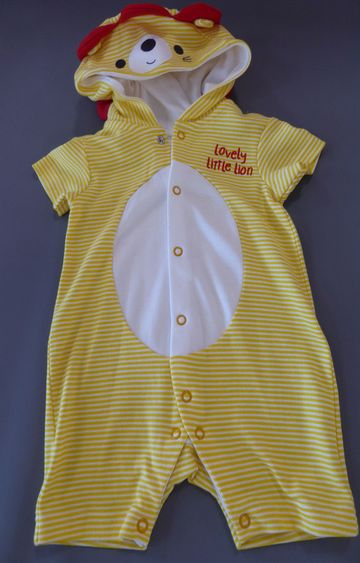 Mothercare | Yellow Striped Romper