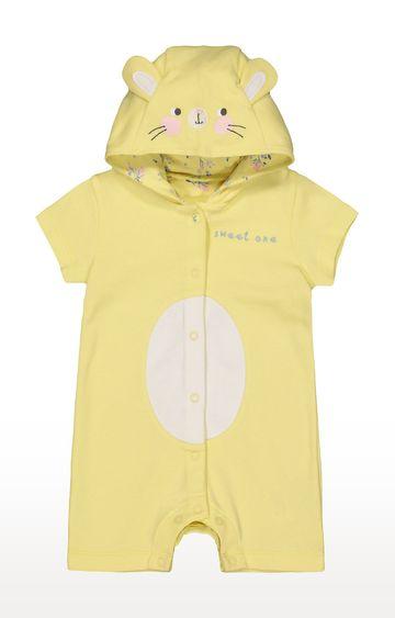 Mothercare   Yellow Colourblock Romper