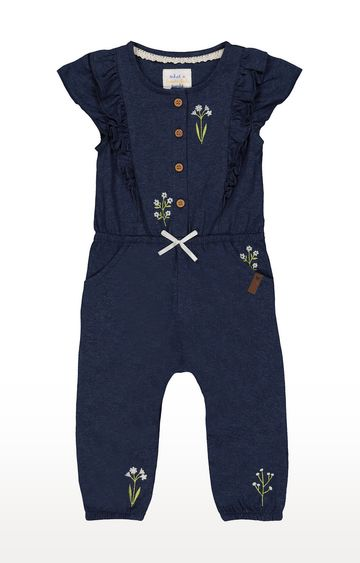 Mothercare   Blue Printed Dungaree
