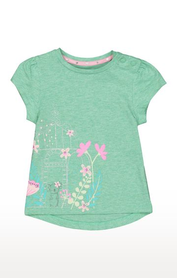 Mothercare   Green Printed Top
