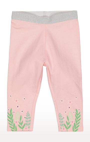 Mothercare | Pink Printed Trousers