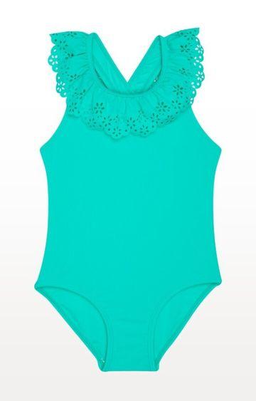 Mothercare | Green Solid Swimwear