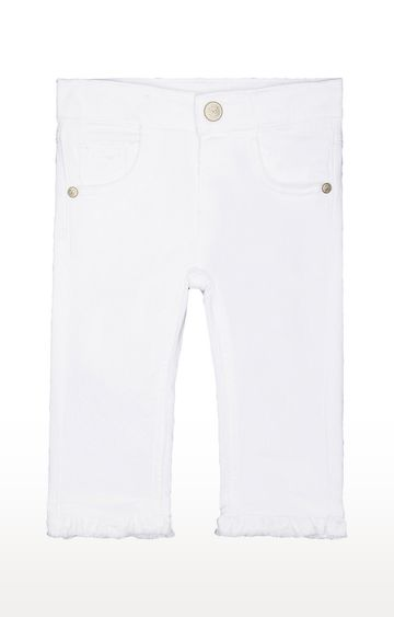 Mothercare | White Solid Jeans