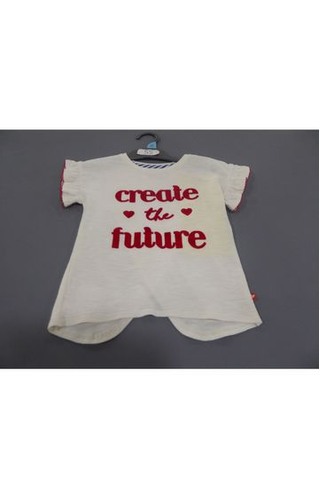 Mothercare   Cream Printed Top