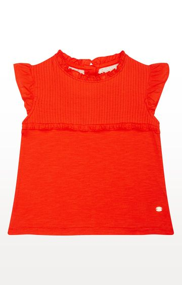 Mothercare   Coral Pleated T-Shirt