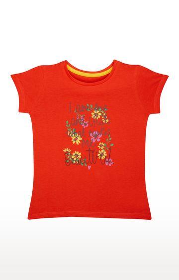 Mothercare   Orange Printed Top