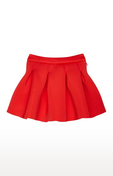 Mothercare | Red Solid Skirt