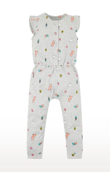 Mothercare   Grey Printed Twin Set