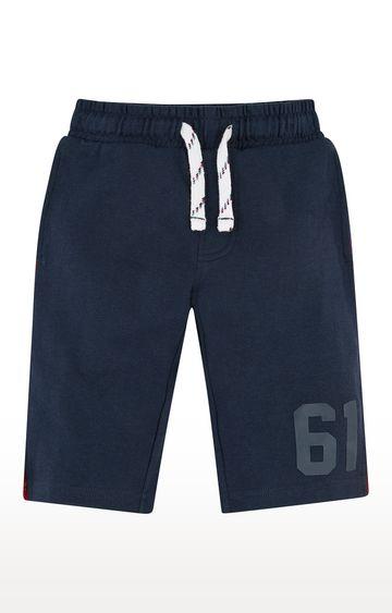 Mothercare   Blue Melange Shorts