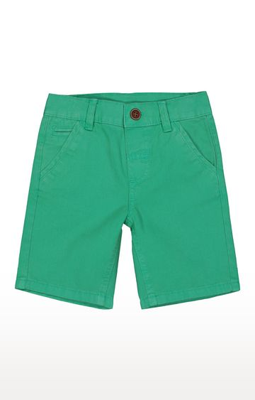 Mothercare | Green Solid Shorts