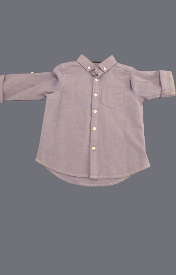 Mothercare   Blue Solid Shirts