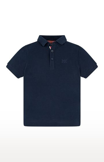 Mothercare | Navy Solid T-Shirt
