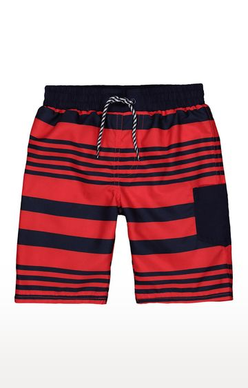 Mothercare | Red and Blue Striped Beachwear Shorts
