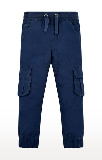 Mothercare   Navy Solid Joggers