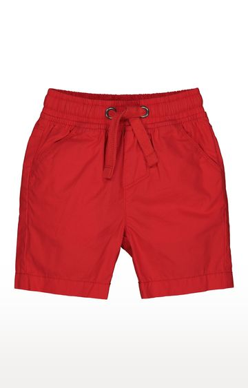 Mothercare | Red Solid Shorts