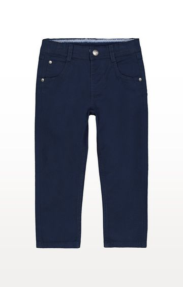 Mothercare   Navy Woven Trousers