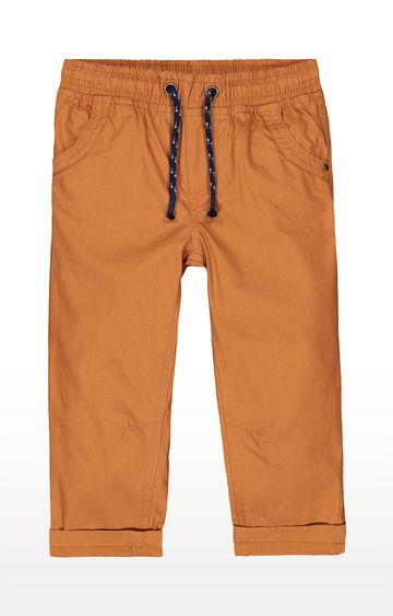 Mothercare | Tan Solid Casual Pants