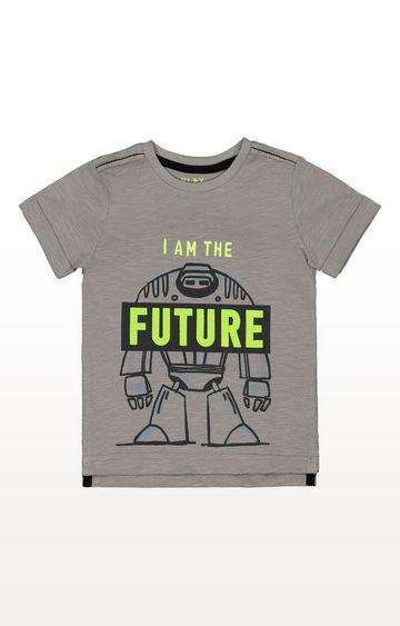 Mothercare | Grey Future Robot T-Shirt