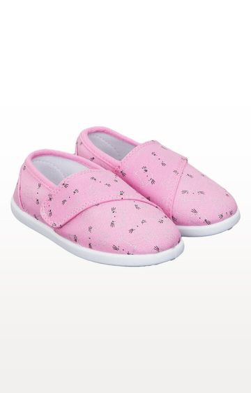 Mothercare | Cat and Bunny Canvas Pumps