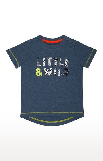 Mothercare | Blue Printed T-Shirt