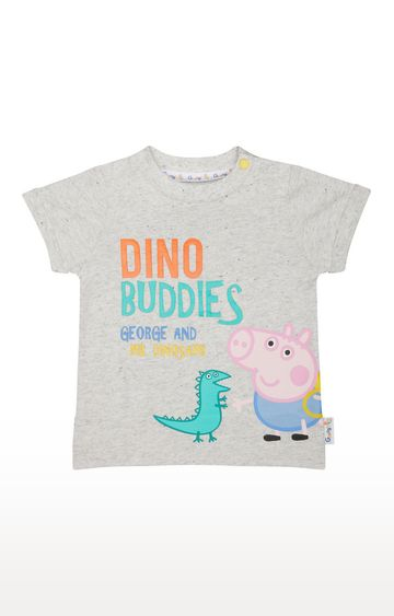 Mothercare | Grey George Pig T-Shirt
