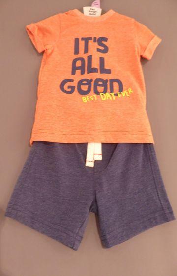 Mothercare   Orange Printed Twin Set