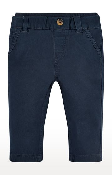 Mothercare | Blue Solid Trousers