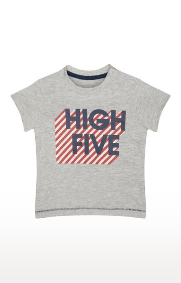 Mothercare | Grey Printed T-Shirt