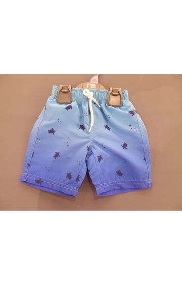 Mothercare | Blue Printed Beachwear Shorts
