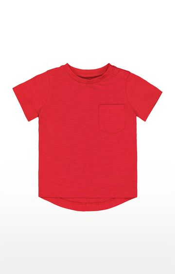 Mothercare | Red Solid T-Shirt